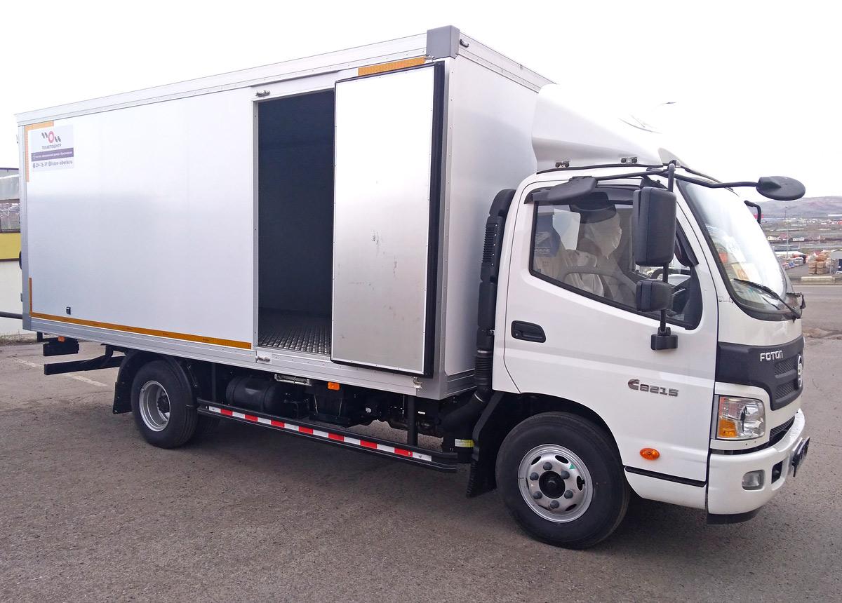 Промтоварный изотермический фургон  в Красноярске